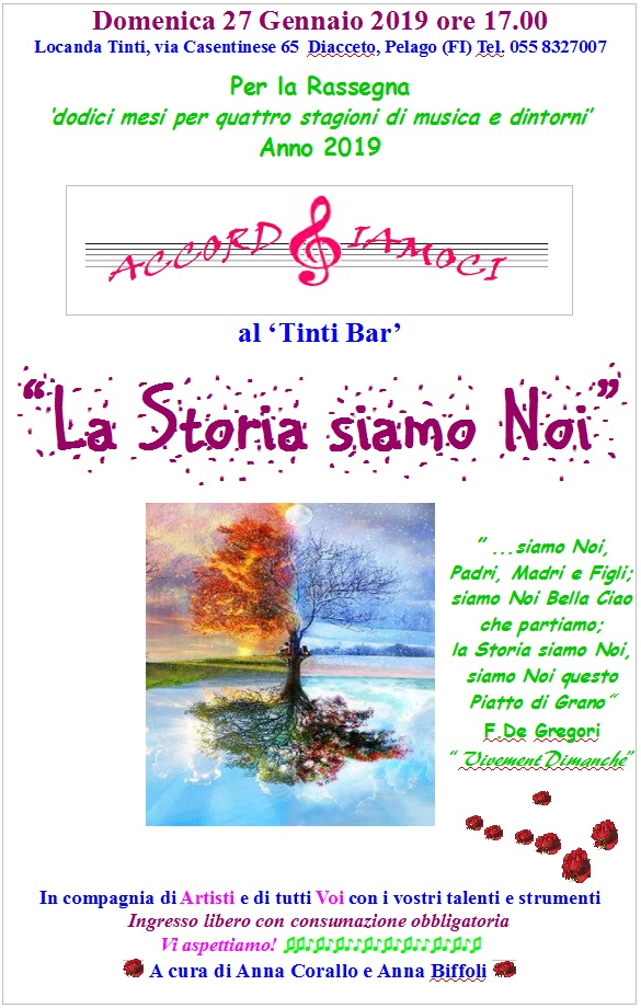 Accordiamoci al Tinti Bar: