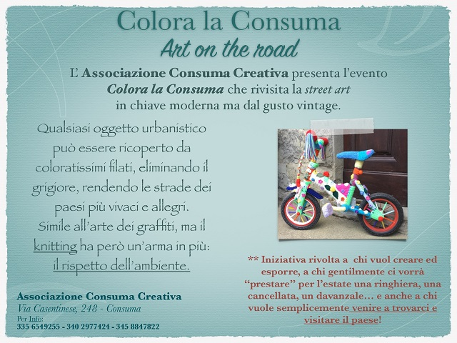 Colora la Consuma: Arte on the road
